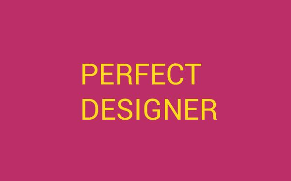 المصمم المثالي